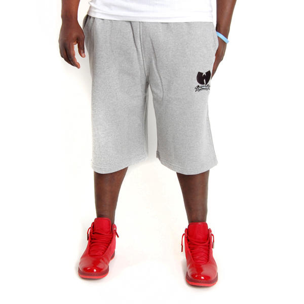 Wu-Wear Brand Fleece Shorts Grey - SUPREMESTYLE.EU - We dress hip h