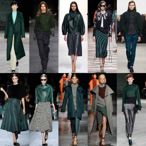 Fringe Trend: Forest Green for Fall - Y
