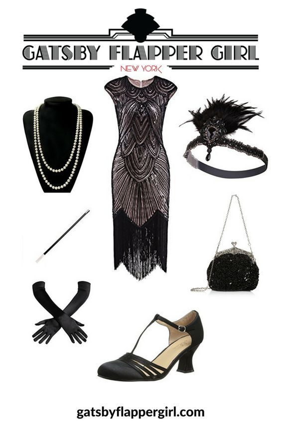 Gatsby Attire Female • 1920s Great Gatsby Outfits [ 2020 .