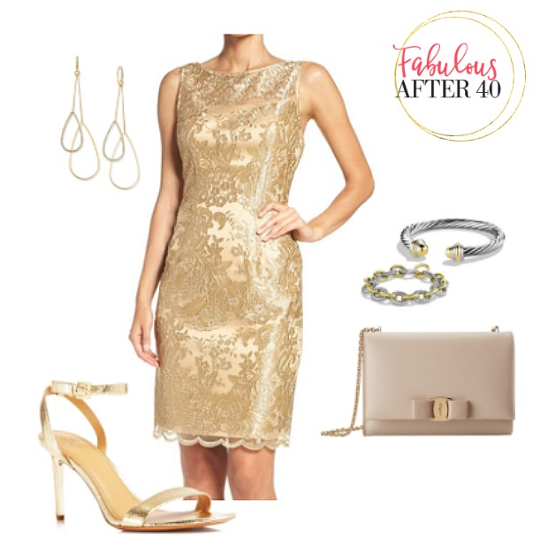 What Color Shoes to Wear With A Gold Dress for Wom