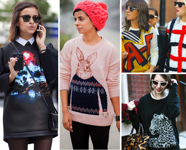 Would You Wear: The Graphic Sweat