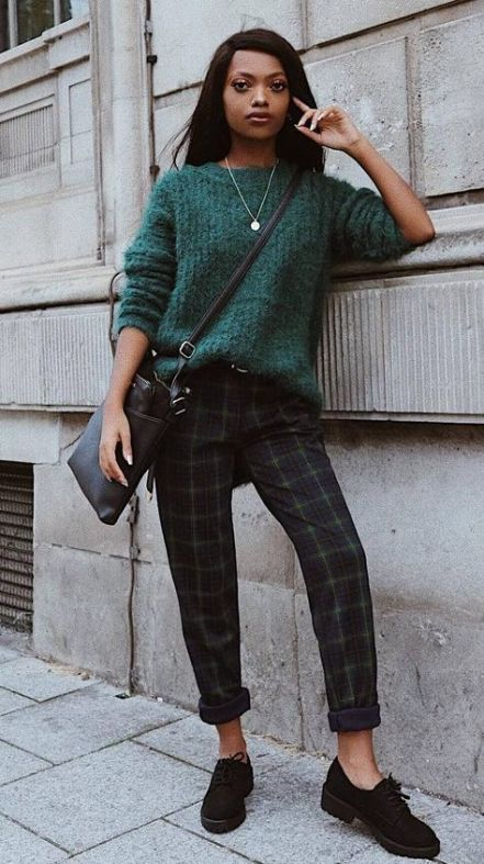 How to wear green pants bags 47 Ideas for 2019 | Patterned pants .