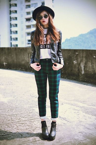 How to Wear Green Plaid Pants: Top 13 Stylish Outfit Ideas for .