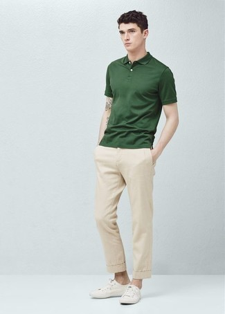 Dark Green Polo Outfits For Men (53 ideas & outfits) | Lookast
