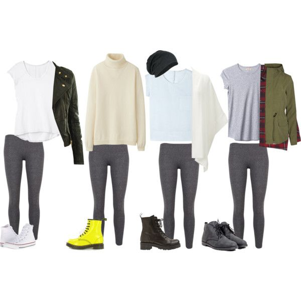 Stylish With Grey Legging Outfits | Grey leggings, Outfits with .