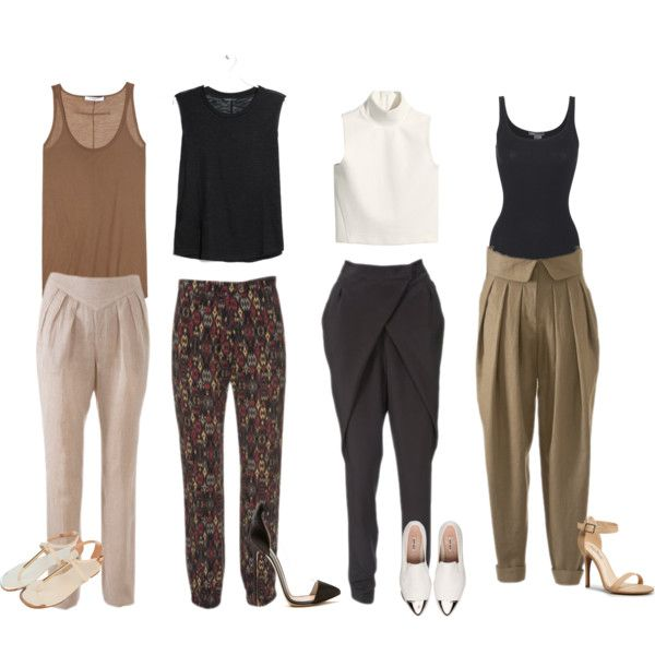 How to Wear Harem Pants | Harem pants outfit, Pants outfit work .