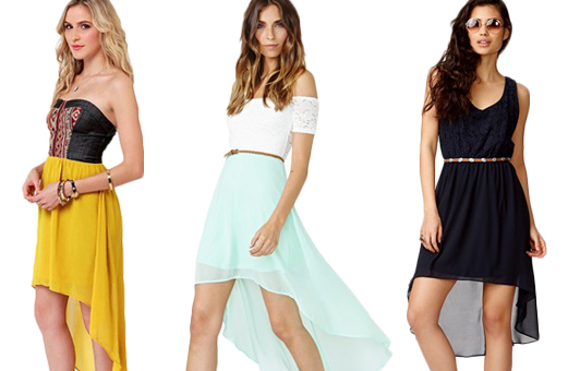 What to wear to your next party: High-low dresses - GirlsLi