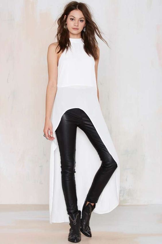 How to Wear High Low Top in 15 Absolutely Chic Ways - FMag.c