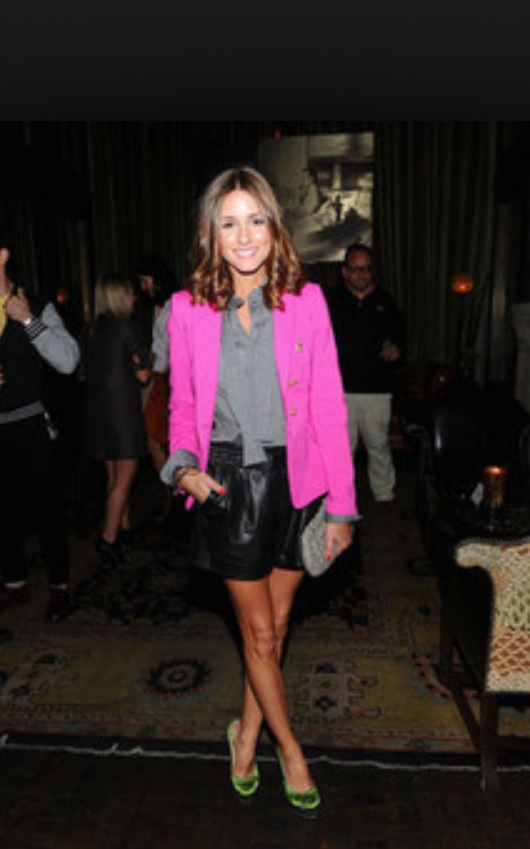 How to wear a hot pink blazer – Busy Style Beauty's Bl