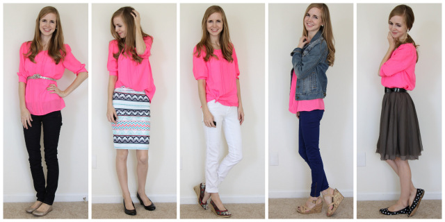 How to Wear Neon Pink - Everyday Readi