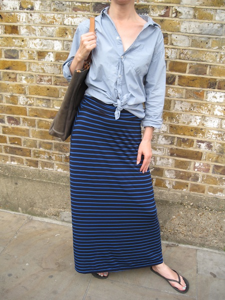 How to wear a maxi skirt — That's Not My A