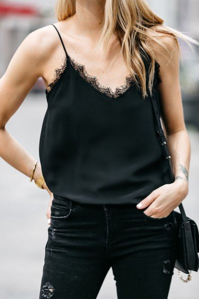 How to Wear Lace Camisole Casually: Top 15 Outfit Ideas - FMag.c