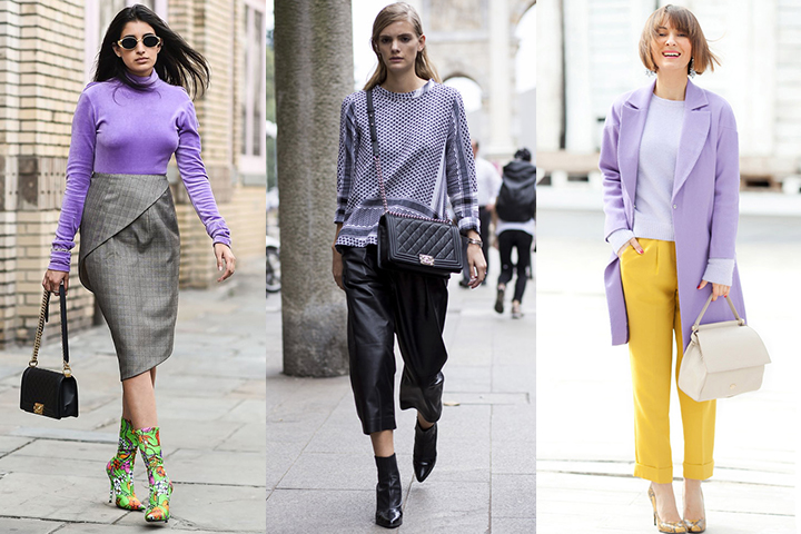 Lavender pullover sweaters | HOWTOWEAR Fashi