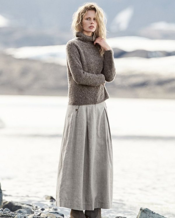 How to Wear Linen Skirt: 15 Casual & Beautiful Outfits for Women .