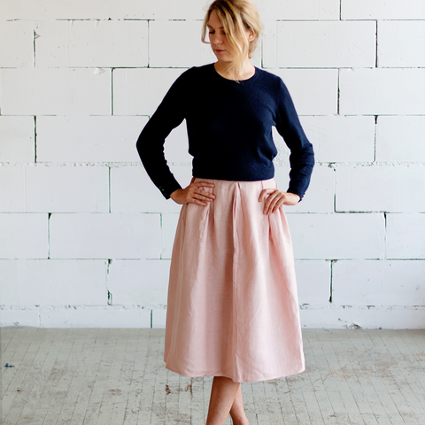 Lemuel MC Linen Skirt | Buy Me Once