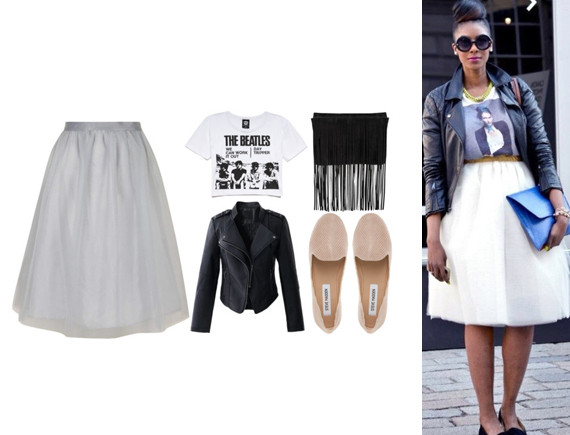 How To Wear A Tulle Skirt Without Looking Like A Ballerina .
