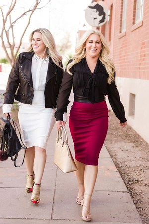 Maroon Skirt - How to Wear and Where to Buy | Chictop