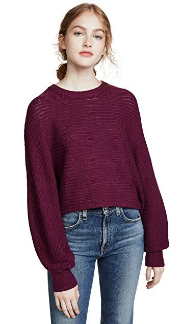 The 11 Best Burgundy Sweaters and How to Style Them | Who What We