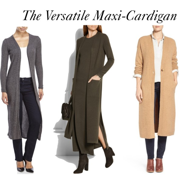 How to wear maxi cardigans. | Elements of Ima