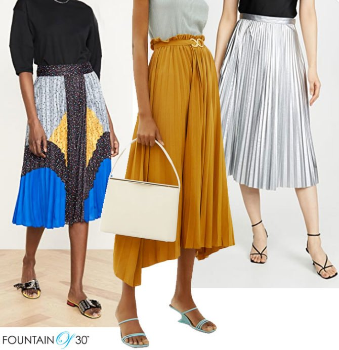 How to Wear Pleats When You Are Over 40 - fountainof30.c