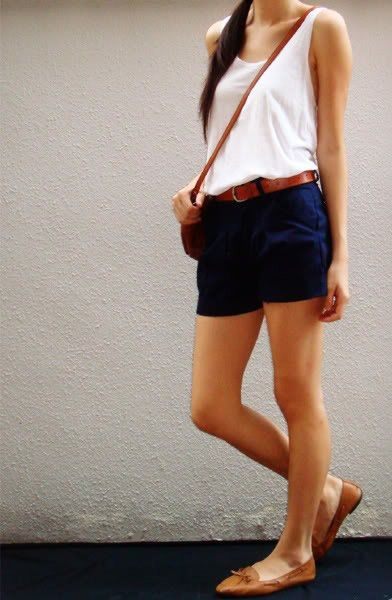 Navy Shorts Outfit - beautyfashion.co | Navy shorts outfit .