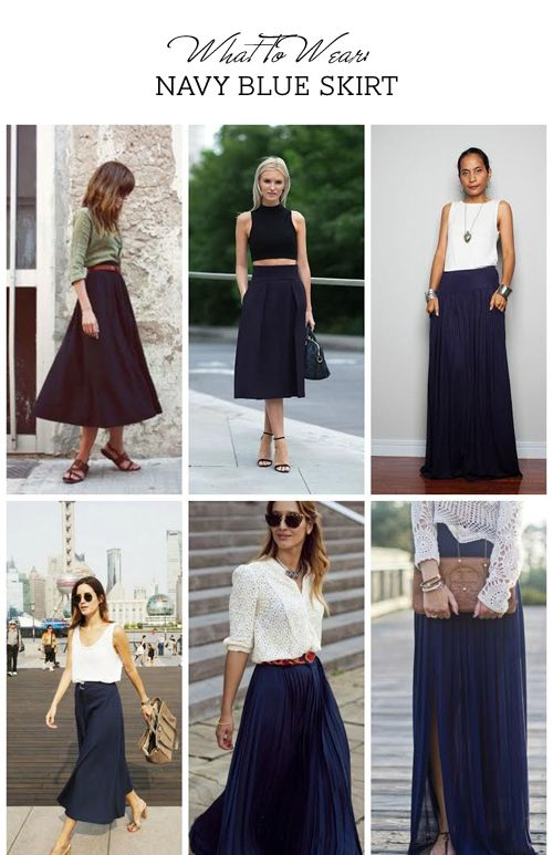 www.style-n-naina.com | Navy blue skirt, Fashion, Autumn fashion wom