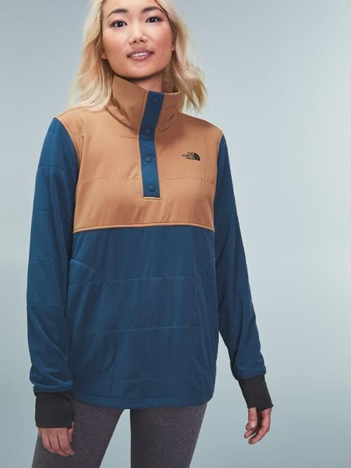 The North Face Mountain Sweatshirt Quarter-Snap Pullover - Women's .