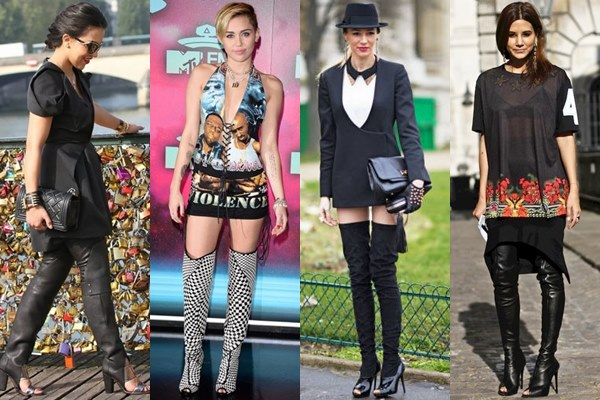 How to Wear Boots in Various Styles and Heights (Thigh-high Boots .