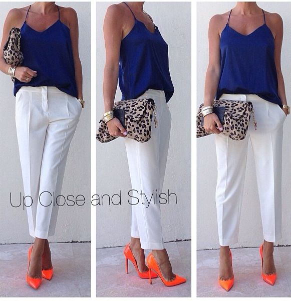 Pin by Lauren Matthews on D.C. Style | Fashion, Orange outfit .