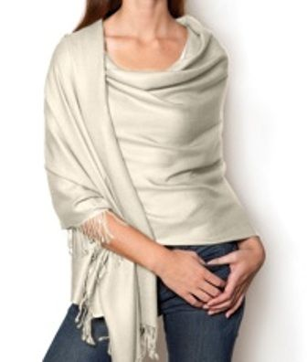 How To Wear Your Pashmina Scarf To Best Complement Your Body Type .