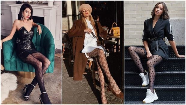 Friday Fashion Fits: How to Wear the Patterned Tights Trend in 20