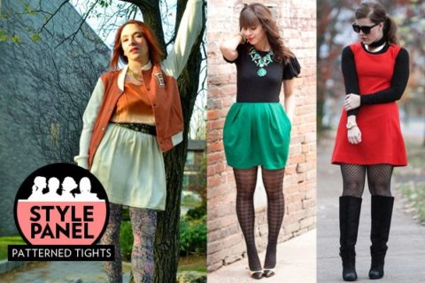 Style Panel: How to wear patterned tights - FASHION Magazi