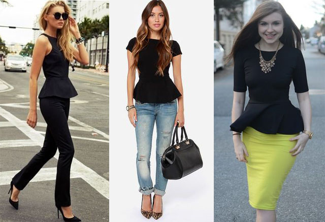 How to Wear a Peplum Top in 2021? Outfits & Ways to Wear| Fashion .