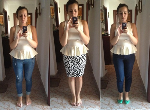 How to wear a peplum top – Fashion in my ey