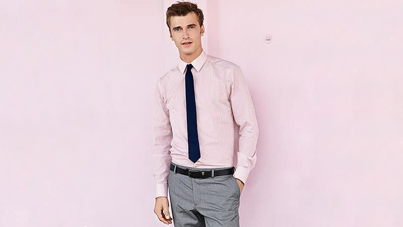 How to Wear a Pink Shirt with Style - The Trend Spott