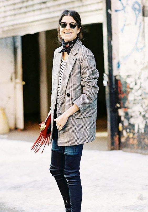 Currently Trending: How to Style a Plaid Blazer (and Which Ones to .