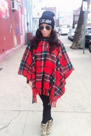 Plaid Poncho - How to Wear and Where to Buy | Chictop