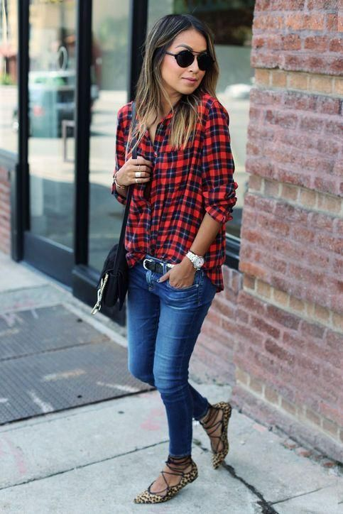 14 Ways to Wear Your Favorite Plaid Shirt This Winter | How to .