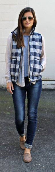 How to Wear Plaid Vest: Top 15 Stylish & Casual Outfit Ideas .
