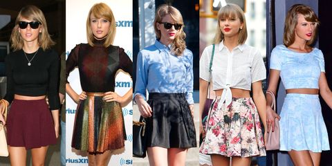 15 Pleated Mini Skirts - Best Mini Skirts for Fall - EL
