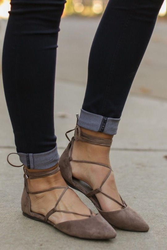 How to wear pointy flats in casual outfits 14 best outfit ideas .
