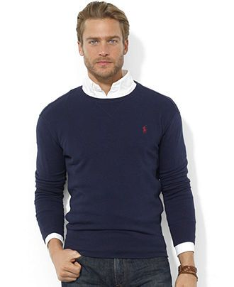 Polo Ralph Lauren Sweatshirt, Crew Neck Fleece Pullover & Reviews .