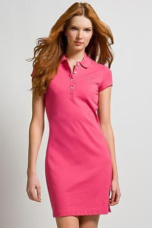 My favorite dress to wear in the summer | Polo shirt dress, Polo .