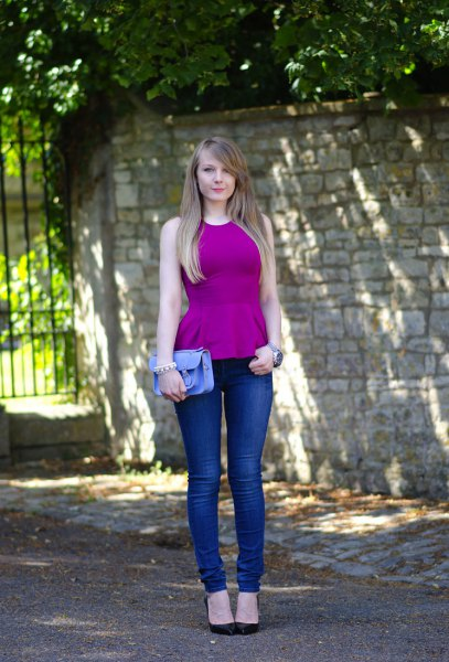 How to Wear Purple Top: 15 Attractive Outfit Ideas for Ladies .
