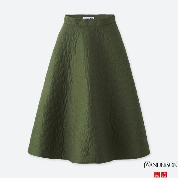 WOMEN J.W.Anderson Quilted Skirt - Shorts & Skirts - BOTTOMS .