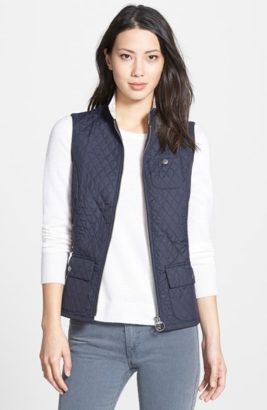 Barbour Brush Quilted Vest, $149 | Nordstrom | Lookast
