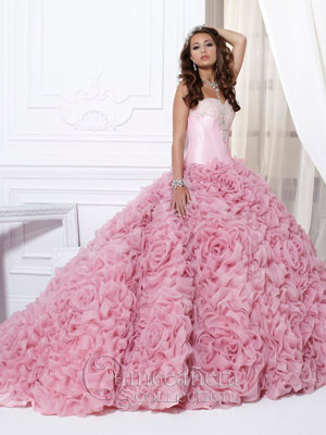 Would you….. Wear a Quinceanera dress to your weddi