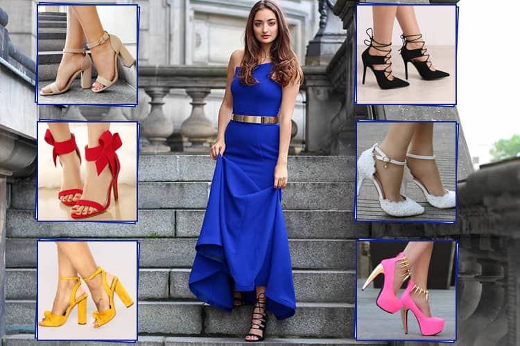 What Color Shoes To Wear With A Royal Blue Dre