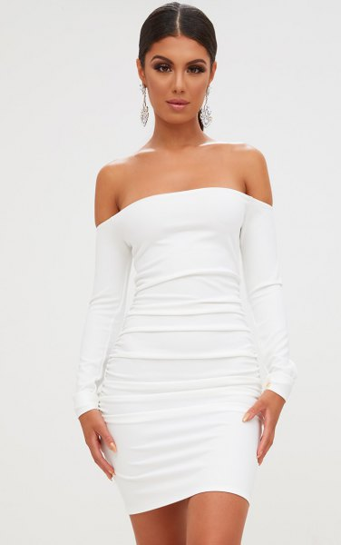 How to Wear Ruched Dress: Best 15 Outfit Ideas - FMag.c