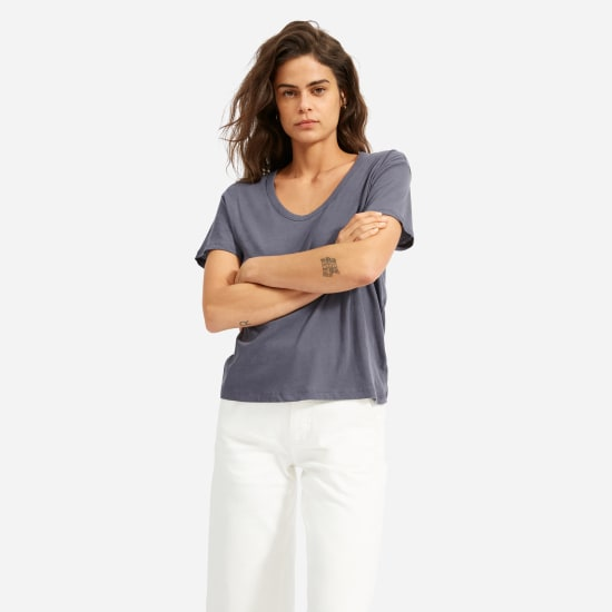 Women's Air Scoop-Neck Tee | Everla